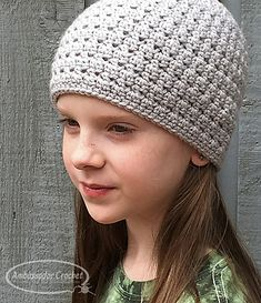 6271aa47913 Ravelry  Hope Lives Chemo Hat pattern by Kristine Mullen Easy Crochet Hat  Patterns