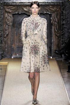 Valentino Spring 2012 Couture Fashion Show - Caroline Brasch Nielsen (Elite)