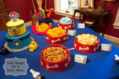 Life Songs Of A Busy Mom Paw Patrol Birthday Party Cake