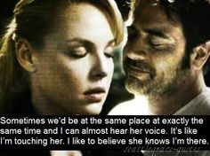 Denny and Izzie: One of my all-time favorite moments.