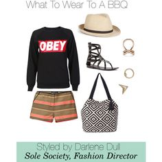 """What To Wear To A BBQ"" by solesociety on Polyvore"