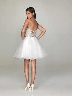 2014 Sweetheart Lace-up A-Line Organza Beaded Applique Cheap Short Prom Dresses Evening Gowns Party Dresses