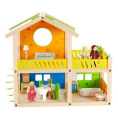This wood made cozy cottage is the perfect size for a small family. Furnished.