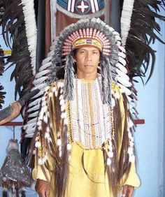 Standard Handmade Native American Style Breastplate -Review the extensive Tribal Impressions breastplate collection off of: http://indianvillagemall.com/dreamcatchers/breastplates.html