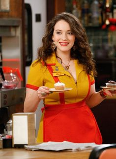 Max Black (Kat Dennings) ~ 2 Broke Girls Episode Stills ~ Season 1, Episode 2: And The Break-Up Scene #amusementphile