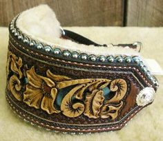 Found the perfect collar for Doge...   Denice Langley Custom Leather