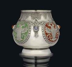 MARKED K. FABERGÉ WITH THE IMPERIAL WARRANT, MOSCOW, 1899-1908, SCRATCHED INVENTORY NUMBER 21044