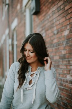 lace up sweatshirt, busted skinny jeans, free people busted skinny jeans, free people distressed skinny jeans, winter fashion, winter style, steve madden carrson sandals, off the shoulder lace up sweater, off the shoulder sweater // grace wainwright a southern drawl