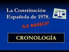 Cronología básica de la Constitución Española de 1978 - YouTube