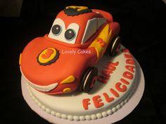 Tarta Rayo McQueen de Cars
