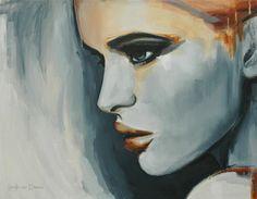 """Saatchi Online Artist Hesther Van Doornum; Painting, """"Dusk - SOLD"""" #art"""