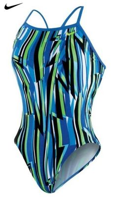 07b6bdc243c16 Amazon.com : Nike Swimsuit Dynamic Lines Lingerie Tank, 40 : Sports &  Outdoors