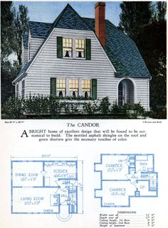 Basic Colonial House Plans Beautiful 62 Beautiful Vintage Home Designs Floor Plans From the Craftsman Bungalow House Plans, Bungalow Floor Plans, Colonial House Plans, Modern Bungalow House, Cottage Style House Plans, Home Design Floor Plans, Beach House Plans, Southern House Plans, Colonial Style Homes