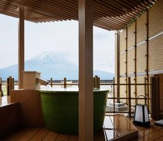 Ending our Japan trip here, with this view -- BOOKED!!!   Fujikawaguchiko Onsen Konanso in Fuji Five Lakes, Japan - Lonely Planet