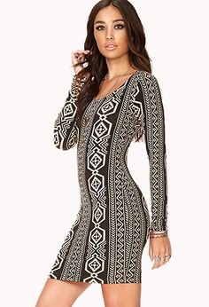 Southwestern Print Dress | FOREVER21 - 2040496361 birthday