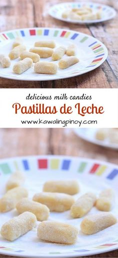 Soft and creamy Filipino candies made with cooked down milk and sugar