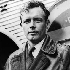 Charles Lindbergh (aviator) - Died August 26, 1974. Born February 4, 1902. First person to fly solo across the Atlantic in 1927, wrote The Spirit of St. Louis.