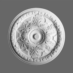 Ceiling Rose - Large and Small Decorative Plaster Ceiling Roses - House Martin Online Ceiling Rose, Ceiling Decor, Ceiling Design, Ceiling Fans, Plaster Coving, Cornice Moulding, Crown Molding, Ceiling Materials, Orac Decor