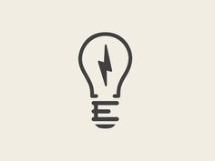 """Electrik Bulb logo. It's only a light globe with an """"e"""" but it is beautiful to look at."""