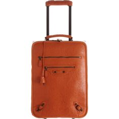 63467a9557b8 Balenciaga Voyage Carry On Trolley in Brown
