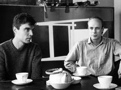 Tea time with David Byrne & Brian Eno