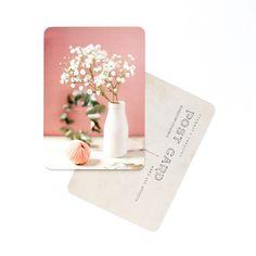 Image of Carte Postale CORAL GYPSOPHILE