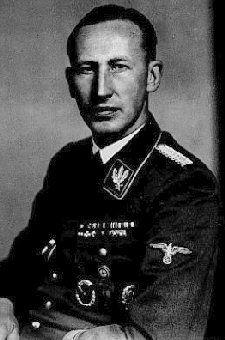 SS-Obergruppenfuhrer Reinhard Heydrich SD Chief