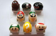 Huevos de Pascua de Mario Bros :D
