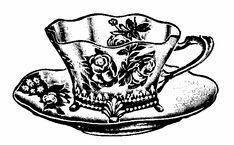 victorian tea cups -