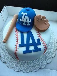 Resultado de imagen para pasteles de fondant de beisbol