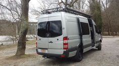 Morehead Design Labs -Mercedes Sprinter with Aluminess roof rack