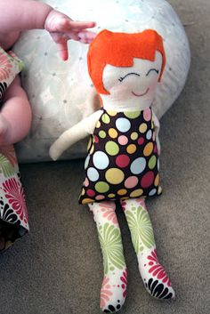 Black Apple Doll Pattern-free!
