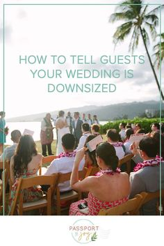 Having your wedding during COVID means downsizing, but once you've downsized your guest list.⁠..then what? ⁠ While cutting your guest list was tricky, this next part can make you feel icky and also guilty. And you might also be worried your guests will be upset.⁠ So, how do you tell guests?⁠ Click to learn some helpful tips from the wedding planning pros at Passport to Joy that will make telling your guests your wedding is downsized much easier.⁠ #weddingguestlist #weddingtips Planning A Small Wedding, Wedding Planning Guide, Plan Your Wedding, Wedding Guest List, Wedding Advice, Wedding Ideas, Make You Feel, How Are You Feeling, Bridal Tips
