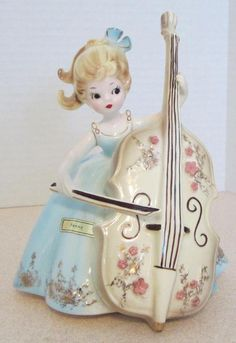"Josef Originals figurine - ""Penny"" from the 'Musicale' series. NEED IT"