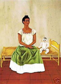 Frida Kahlo 1937 My doll and I