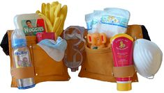 """Baby Shower Gift For Daddy """"Diaper Duty Kit"""""""