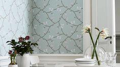 Boråstapeter Magnolia - engelskatapetmagasinet.se