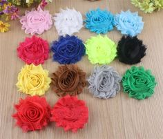 Best Quality Kids Diy 2.5inch Shabby Tulle Flower Fabric Flowers For Headbands For Diy Christmas Headwear Headbands Hairpin Hair Styling Accessories Aw02 At Cheap Price, Online Children's Hair Accessories | Dhgate.Com