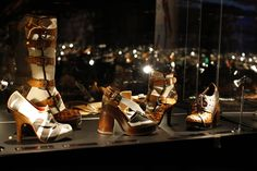 AR Shoes (SS 2006) from Vivienne Westwood Shoe Exhibition, Tokyo. woot.