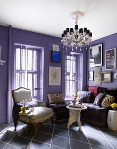 To get this monochromatic look, use colors from the Colorhouse CREATE family.