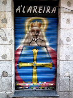 C/ Del Amparo. Barrio Tirso de Molina. Madrid. 2015