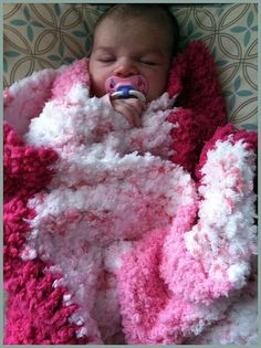 Sweetest Softest Crochet Baby Blanket