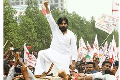 Jana Sena Chief Pawan Kalyan submitted his nomination to the returning officer in Gajuwaka on Thursday. Pawan Kalyan Wallpapers, Wallpaper Photo Hd, Galaxy Pictures, Power Star, Hd Picture, Akira, Harley Davidson, Daughter, Stars