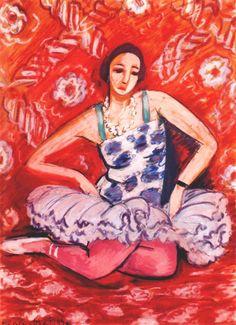 kundst: Henri Matisse (Fr. 1869-1954) Dancer (1925-26)
