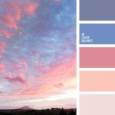 бледный розовый, лиловый цвет, нежный оранжевый, нежный фиолетовый, оттенки заката, оттенки розового заката, розовый, тёмно-зелёный, фиолетовый, цвет рассвета, цвет тумана, цвет тумана в горах, цвета заката, цвета рассвета.