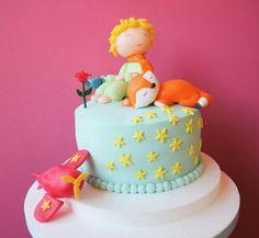 Prince Birthday Party, Boys 1st Birthday Party Ideas, Baby Birthday Cakes, 1st Boy Birthday, First Birthday Parties, First Birthdays, Little Prince Party, The Little Prince, Tsum Tsum Party
