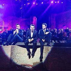 #Repost from @ilvolomusic with @ig_saveapp. Great memories from a special night in Pompei! #IlVolo #GrandeAmore