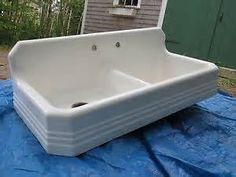 vintage cast iron sink