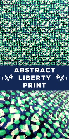 Abstract Liberty of London 100% Cotton Lawn Print