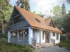 Projekt domu jednorodzinnego całorocznego Takt 5 (84 m2). Pełna prezentacja projektu znajduje się na stronie: https://www.domywstylu.pl/projekt-domu-takt_5.php.  #takt 5 #projekty #projekt #gotowe #typowe #domy #domywstylu #mtmstyl #home #houses #architektura #interiors #insides #wnętrza #aranżacje